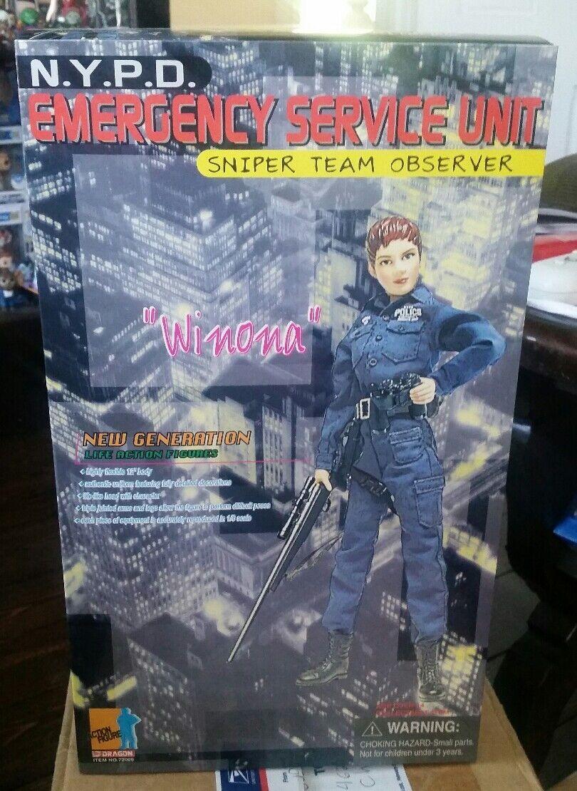 Dragon 1/6 NYPD Emergency Service Unit Sniper Winona MIB