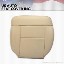 2004 Ford F-150 F150 Driver Bottom Replacement Leather Seat Cover Light Tan