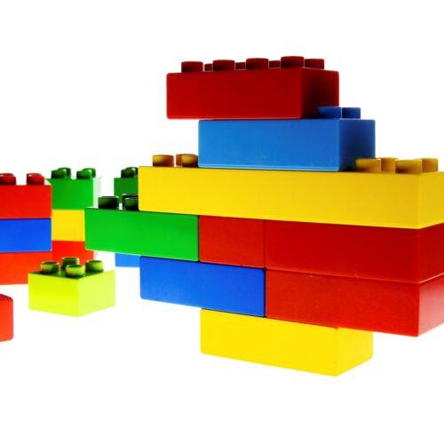 5KG Figuren Lego Duplo Konvolut gereinigt Steine Fahrzeuge 1KG