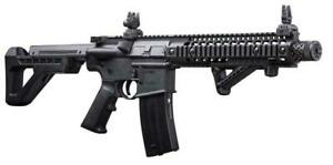 Crosman DSBR DPMS SBR Fully Automatic CO2 Powered Air Powered BB Dual Action