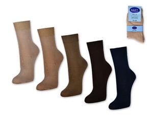 10-to-60-Pair-Women-039-s-Socks-100-Cotton-Business-Women-039-s-Socks-Beige-Brown-Blue