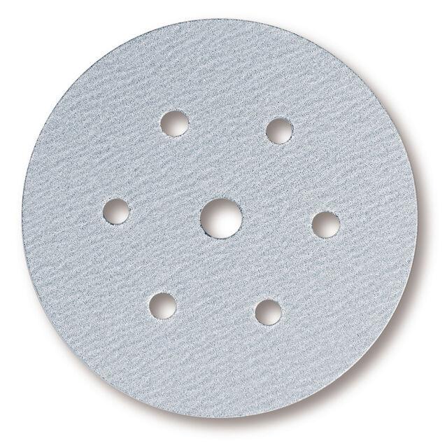 Mirka - Q.Silver Klettscheiben 150 mm 7-fach gelocht Körnung wählbar
