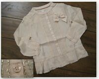 New Girls ex m+nsoon blouse top age 6-7 years perfect for a party or christmas