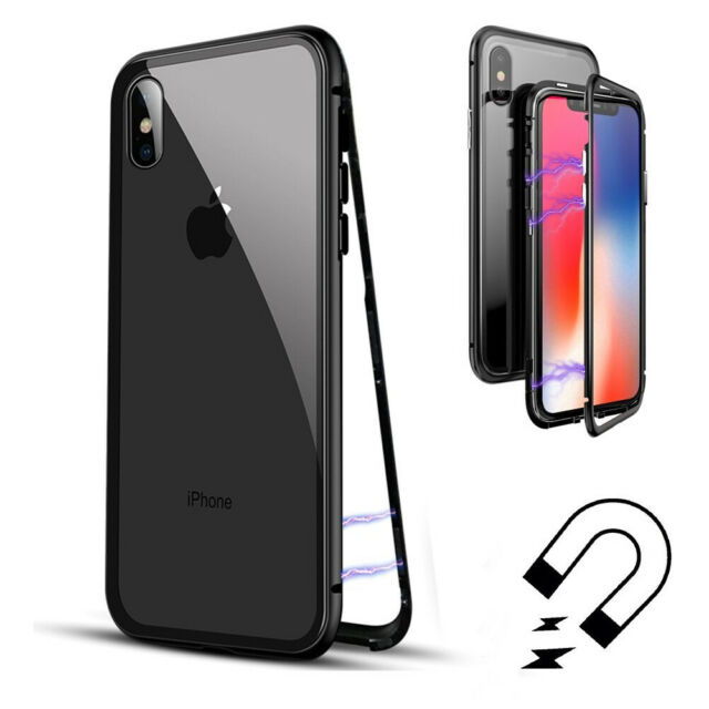 esr glass case for iphone xs max 9h tempered glass back cover