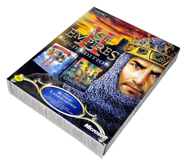 Age of Empires II 2 Gold édition de MICROSOFT pour Windows PC dans Big Box