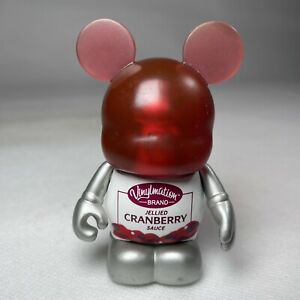 """3"""" Disney Vinylmation Holiday Series #3 Cranberry Sauce Collectable Figure VGC"""