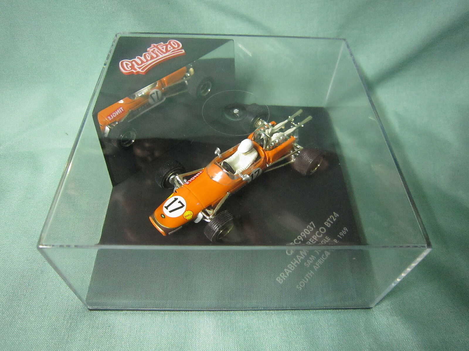 DV5960 QUARTZO VITESSE BRABHAM REPCO BT24  17 SOUTH AFRICA 1969 TINGLE QFC99037
