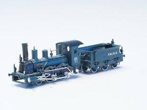 Brass-Railex-Z-scale-Tristan-Klasse-B-VI-Royal-Bavarian-RR-Green-Livery