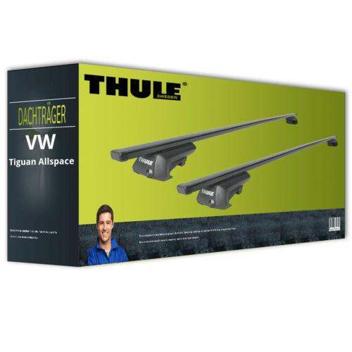 EBA Thule SquareBar Dachträger für VW Tiguan Allspace komplett inkl Stahl