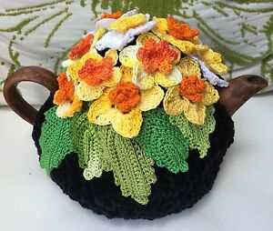 NEW  Handmade Tea Cozy Fruit Symphony From Ukrainian Designer