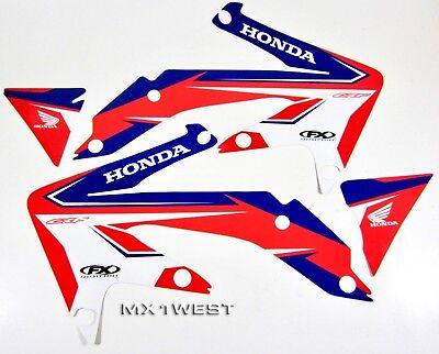 Factory Effex 13 Stock Replica Shroud Graphics for Honda CRF 450 R 13-14 White