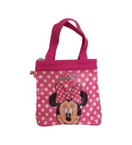 OFFICIAL DISNEY CHARACTER Girls Kids Shopping Tote Shopper Bag Travel Nursery