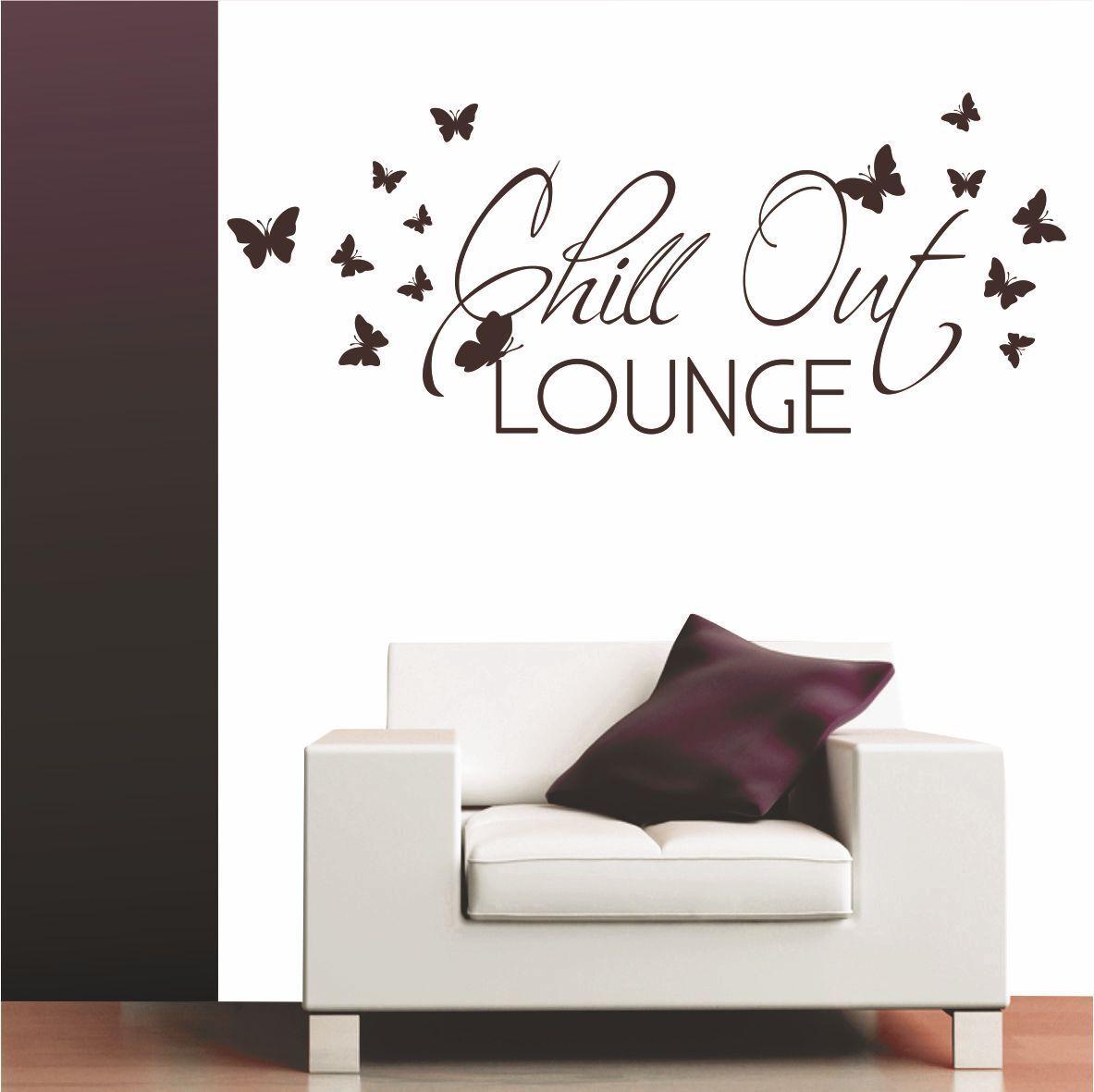 Fabelhaft Wandtattoo Schmetterling Foto Von Chill Out Lounge Wohnzimmer Büro Salon Wandaufkleber