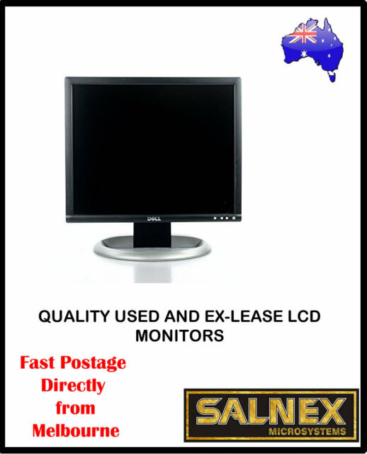 "Dell UltraSharp 1905FP 19"" LCD Monitor High Resolution 1280 x 1024,Black/Silver"