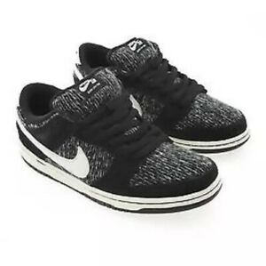 new style 69d66 5969a Details about Men's Nike SB Dunk Low Warmth Pack Size 6 Skate Shoe Black  Ivory Hyper Grape