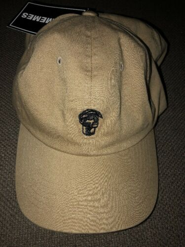 NWT Adult 2pac Tupac Silhouette Cotton Strapback Dad Hat Tan