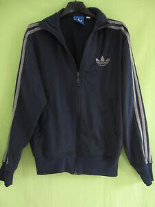 Détails sur Veste Adidas Originals Marine trefoil Jacket style vintage XS