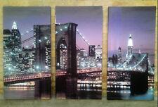 Quadro quadri moderno arredo salotto soggiorno NEW YORK america 150x60 originale