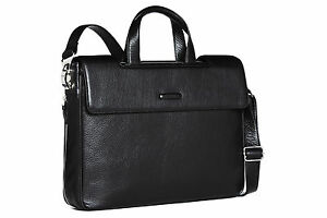 huge selection of bf9f3 efdbc Details about Piquadro Modus Dark Brown Expandable briefcase with two  handles CA1560MO/TM2