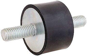 Anti Vibration Bobine 30 mm x 30 mm M8x20 mâle//mâle