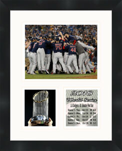 Details about Boston Red Sox 2018 World Series Framed Photo Memorabilia  Collage Frames By Mail