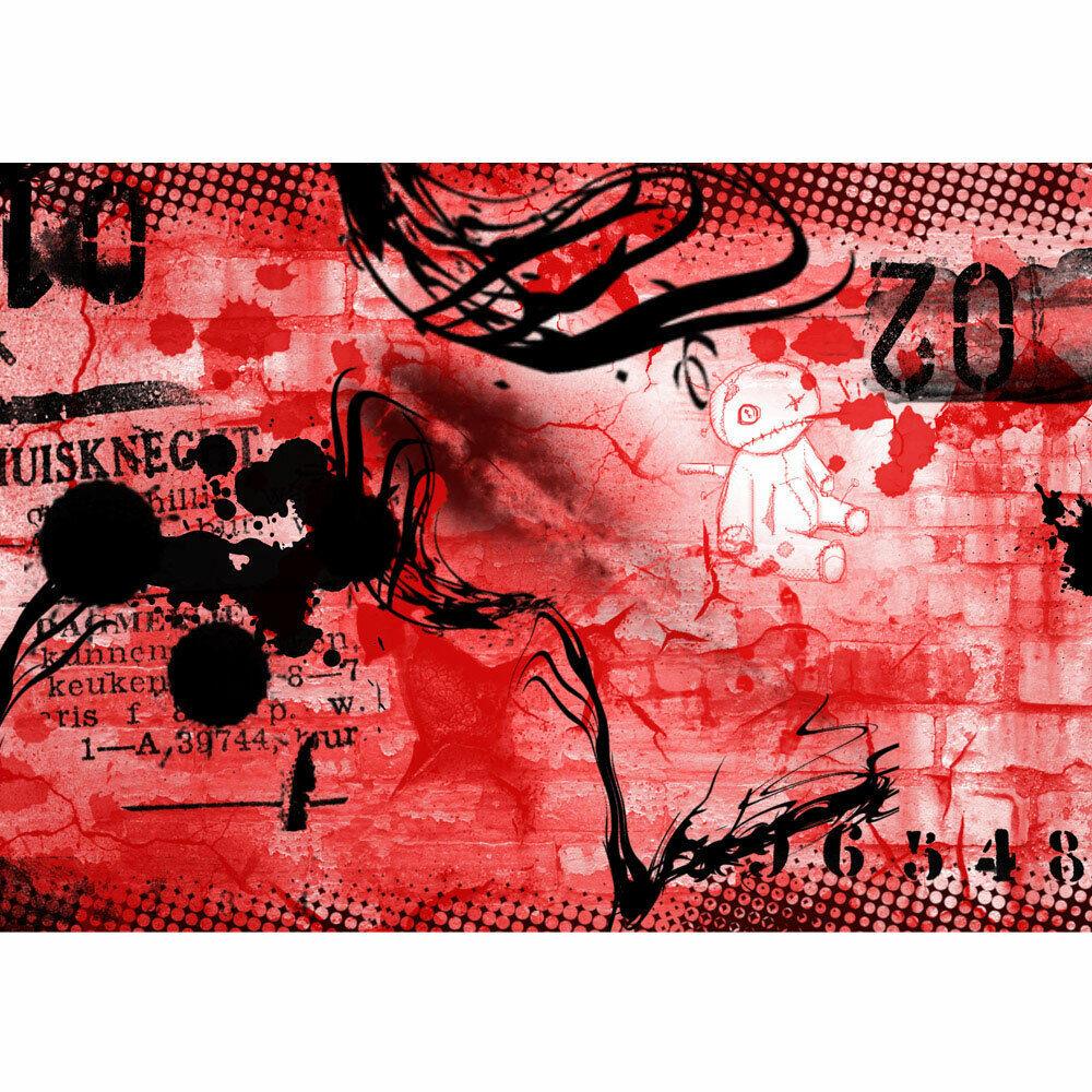 Vivero de Fondo Pansize Foto Teen Habitación Juvenil Graffiti Liwwing N°36