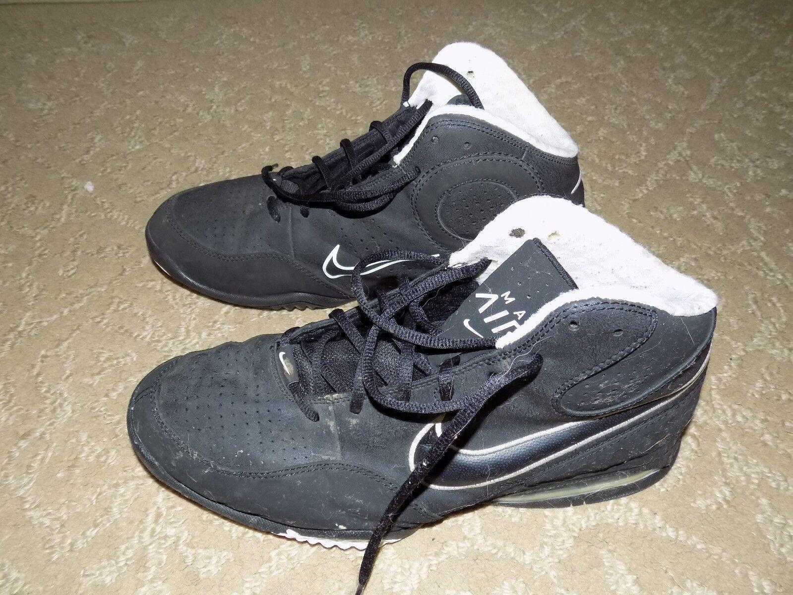 Nike MAX Air Black 345000-004Size 11.5 USA Men's EUC FREE USA 11.5 SHIPPING 502183
