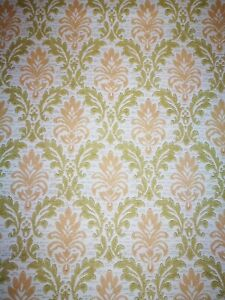 Details About Wallpaper Years 70 Vintage Original Roll Authentic Dell Age 303