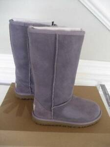 50afebbe243 Details about NIB UGG Australia Kids Youth Classic Tall Boots Purple Ash  Sizes 13 1