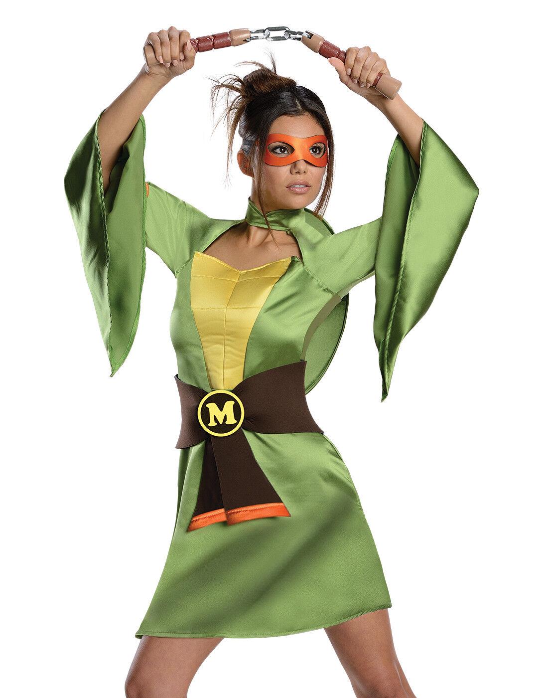 Teenage Mutant Ninja Turtles Sexy Sexy Sexy Michelangelo Damen Halloween Kostüm | Spielzeugwelt, glücklich und grenzenlos  | Elegantes und robustes Menü  | Hochwertige Materialien  04915a