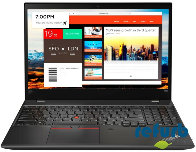 Lenovo ThinkPad T580, GHz 1.9, GB ram 16, GB harddisk 256,…