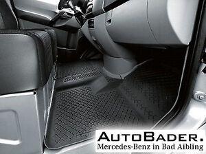 Mercedes-Benz Allwettermatten Gummimatten vorne SPRINTER 906 Ncv3