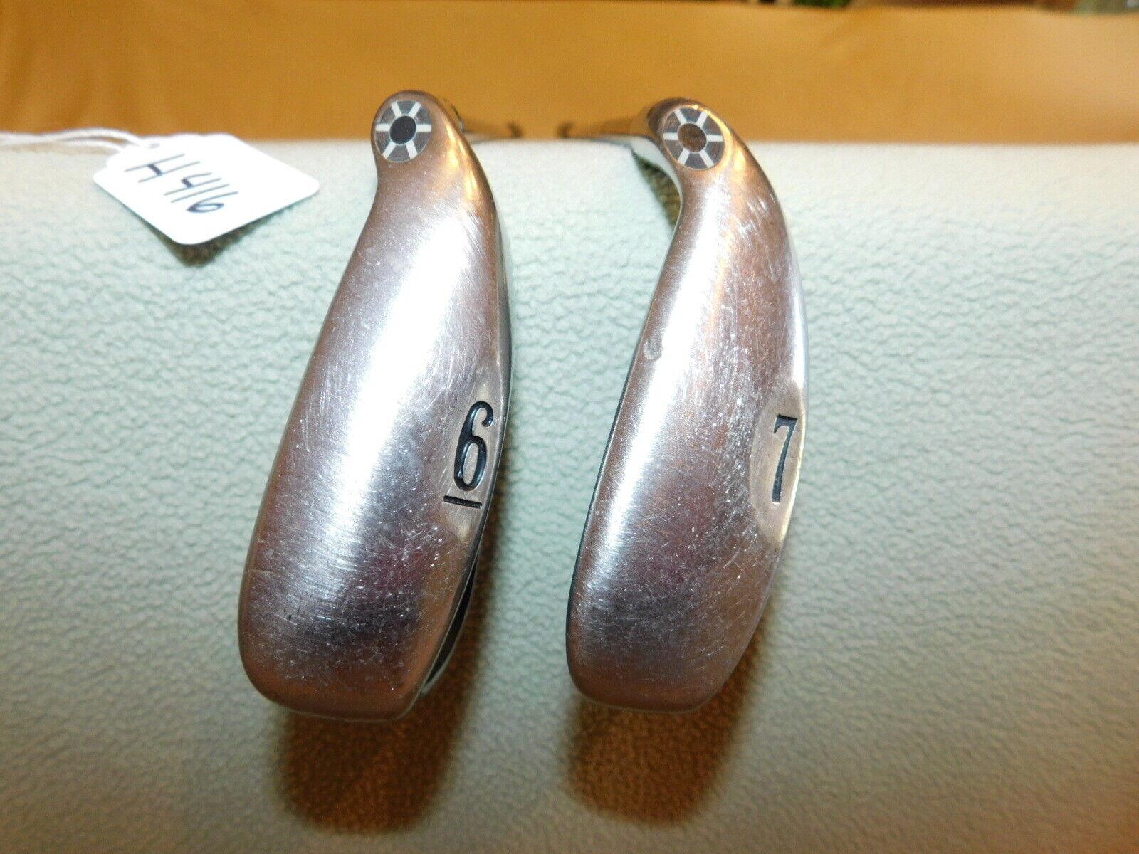 2002 Callaway Big Bertha Regular Flex 6 Iron & 7 Iron   H416