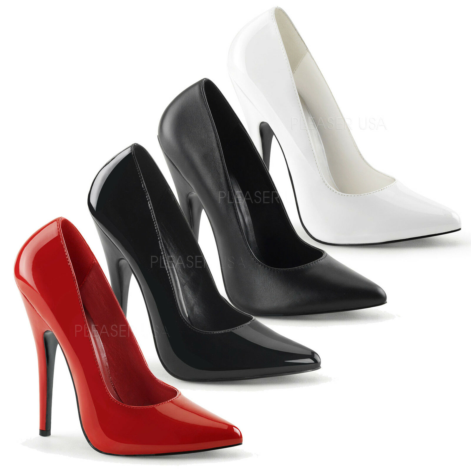 DEVIOUS By Pleaser - Domina-420 High Heel Sexy And Stunning Court Schuhe