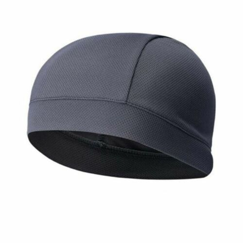 hot Men Woman Cap Quick Dry Sports Sweat Beanie Hat Great Cycling Dome Caps new
