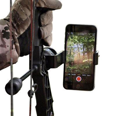 Compound Bow Smartphone Mount Camera Holder for PSE HOYT Archery Target Shooting