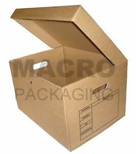 10-ARCHIVE-REMOVAL-CARDBOARD-FILING-A4-STORAGE-Box-24HR