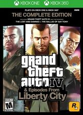 Grand Theft Auto IV GTA 4 Complete Edition Xbox 360 Xbox One New Ships Fast New