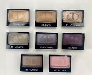 Dior DIORSHOW MONO Wet & Dry Backstage Eyeshadow 2.2g-.07oz Select Color *NEW*