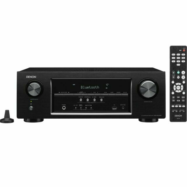 Denon AVR-S540BT 5.2 Channel 4K Ultra HD AV Receiver with Bl