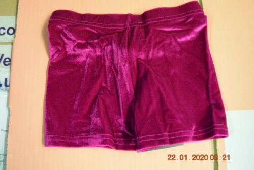 all sizes hotpants Cerise pink smooth velvet t/&p hipster micro shorts