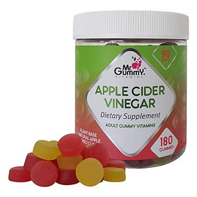 Mr Gummy Apple Cider Vinegar Gummies 180-Count Promote