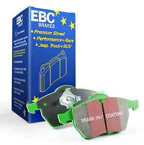 ROAD, SPORT EBC GREENSTUFF BRAKE PADS FRONT DP21954