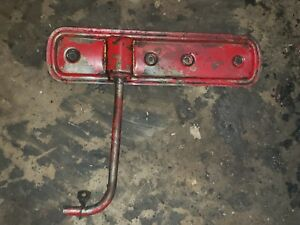 Farmall-M-Early-SM-Tractor-IH-engine-Motor-side-cover-panel-w-vent-tube-mount