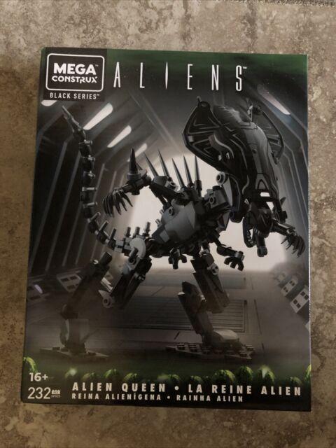 Mega Construx Black Series Aliens Queen Alien Xenomorph 232pc Figure Mattel CHOP
