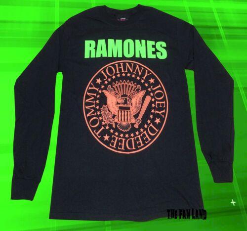 NEUF Le Ramones Presidential Seal Homme manche Longue Vintage T-shirt classique