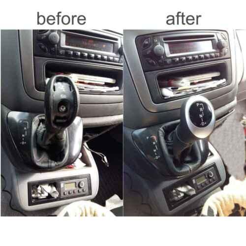 leather gear shift knob Mercedes W639 Vito Viano illuminated automatic A 41