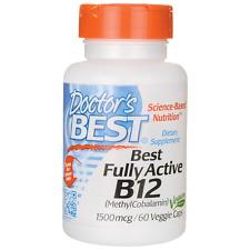 B12 1500 mg/60 Vegan Capsules B12-Methylcobalamin Doctor's Best
