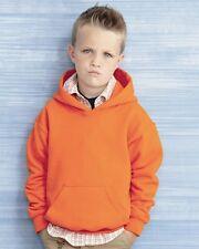12 Blank Gildan Youth Hooded Sweatshirt Hoodie Kids Bulk ok to mix S-XL & Colors