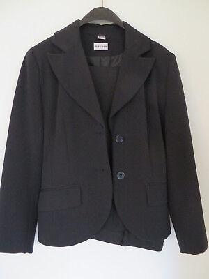 Festlicher Hosen- Anzug In Gr. 34 (maße Unten) ++ Schwarz